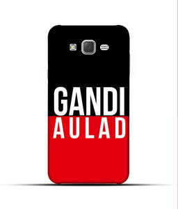 """gandi Aulaad"" Printed Matt Finish Mobile Case for Samsung J7 2015"