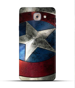 """Captain America"" Printed Matt Finish Mobile Case for Samsung J7 Max"