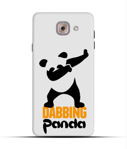 """Dabbing panda"" Printed Matt Finish Mobile Case for Samsung J7 Max"