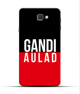 """gandi Aulaad"" Printed Matt Finish Mobile Case for Samsung J7 Prime"