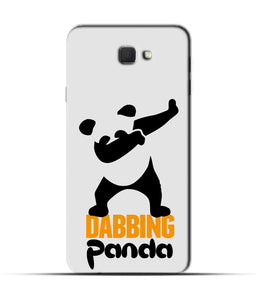"""Dabbing panda"" Printed Matt Finish Mobile Case for Samsung On Nxt"