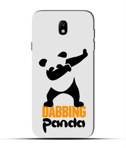 """Dabbing panda"" Printed Matt Finish Mobile Case for Samsung J7 Pro"
