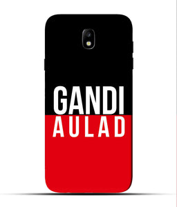 """gandi Aulaad"" Printed Matt Finish Mobile Case for Samsung J7 Pro"