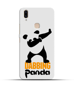 """Dabbing panda"" Printed Matt Finish Mobile Case for Vivo V9"