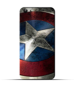 """Captain America"" Printed Matt Finish Mobile Case for Vivo Y69"