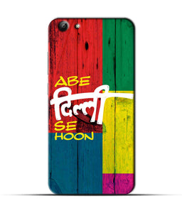 """Abe Delhi See Hoon"" Printed Matt Finish Mobile Case for Vivo Y69"