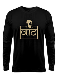 """Jaat"" Printed Pure Cotton Full Sleeve t-shirt (Color options Available)"