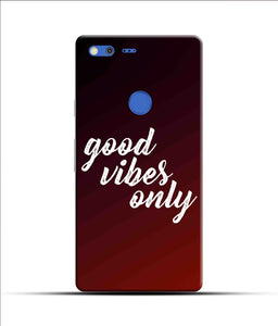 """Good Vibes Only"" Printed Matt Finish Mobile Case for Google Pixel Xl"