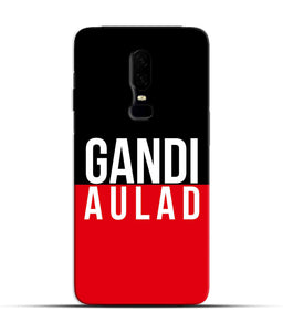 """gandi Aulaad"" Printed Matt Finish Mobile Case for One Plus Six"