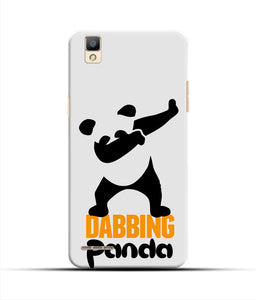 """Dabbing panda"" Printed Matt Finish Mobile Case for Oppo F1"