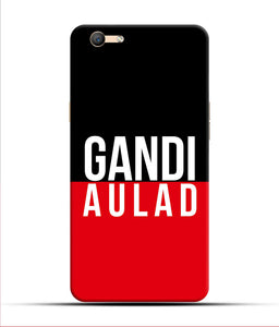 """gandi Aulaad"" Printed Matt Finish Mobile Case for Oppo F1s"