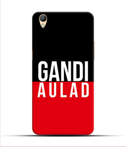 """gandi Aulaad"" Printed Matt Finish Mobile Case for Oppo F1 Plus"