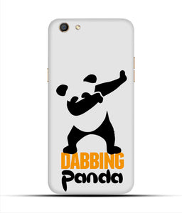 """Dabbing panda"" Printed Matt Finish Mobile Case for Oppo F3"