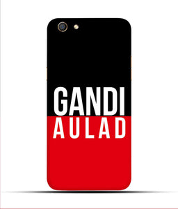 """gandi Aulaad"" Printed Matt Finish Mobile Case for Oppo F3"