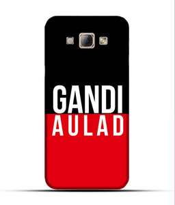 """gandi Aulaad"" Printed Matt Finish Mobile Case for Samsung A8"