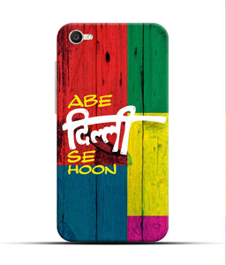 """Abe Delhi See Hoon"" Printed Matt Finish Mobile Case for Vivo Y55"