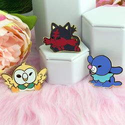 ALOLAN KIDS 3 PIECE ENAMEL PIN SET