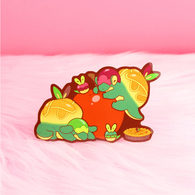 APPLE DRAGON FAMILY STICKER