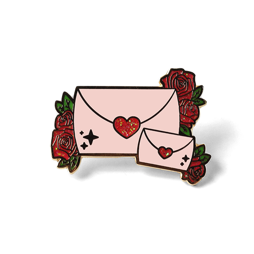 LOVE LETTERS IN PINK & RED