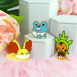 KALOS KIDS 3 PIECE ENAMEL PIN SET