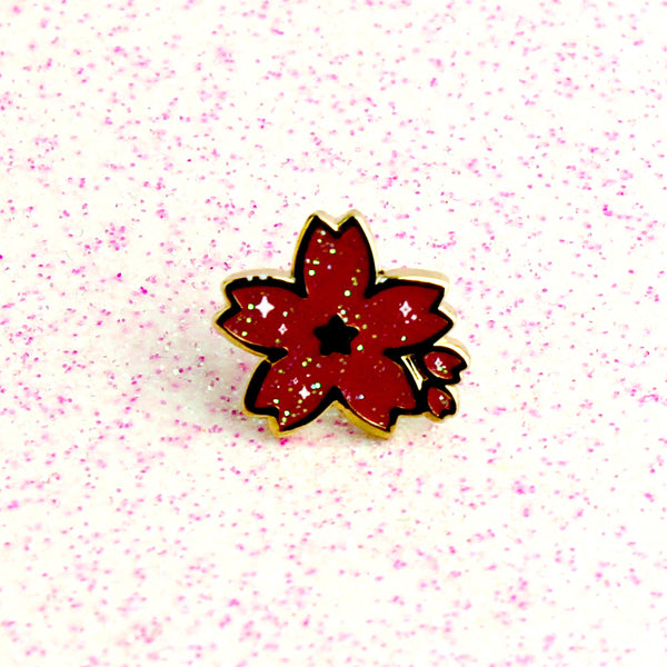 RED SAKURA MINI PIN