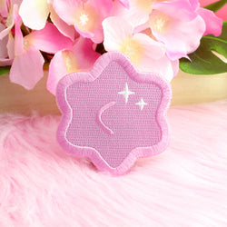 PINK KONPEITO IRON-ON PATCH