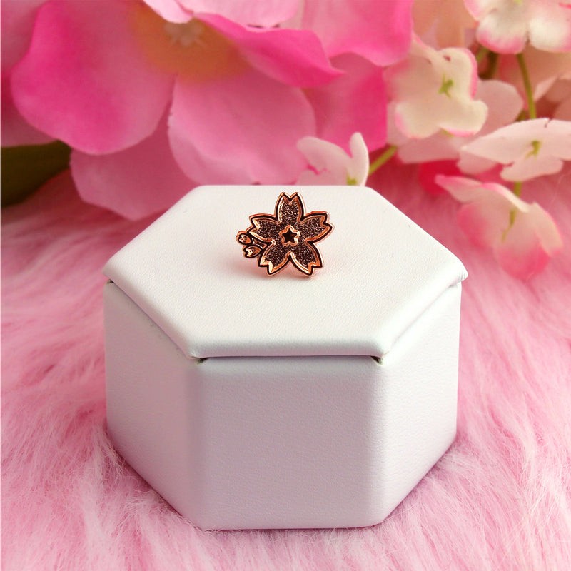 PURE ROSE GOLD MINI SAKURA PIN