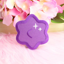 PURPLE KONPEITO IRON-ON PATCH