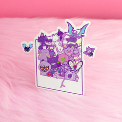 PURPLE SNAP STICKER