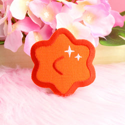 RED KONPEITO IRON-ON PATCH