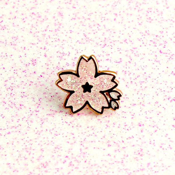 ROSE GOLD SAKURA MINI PIN