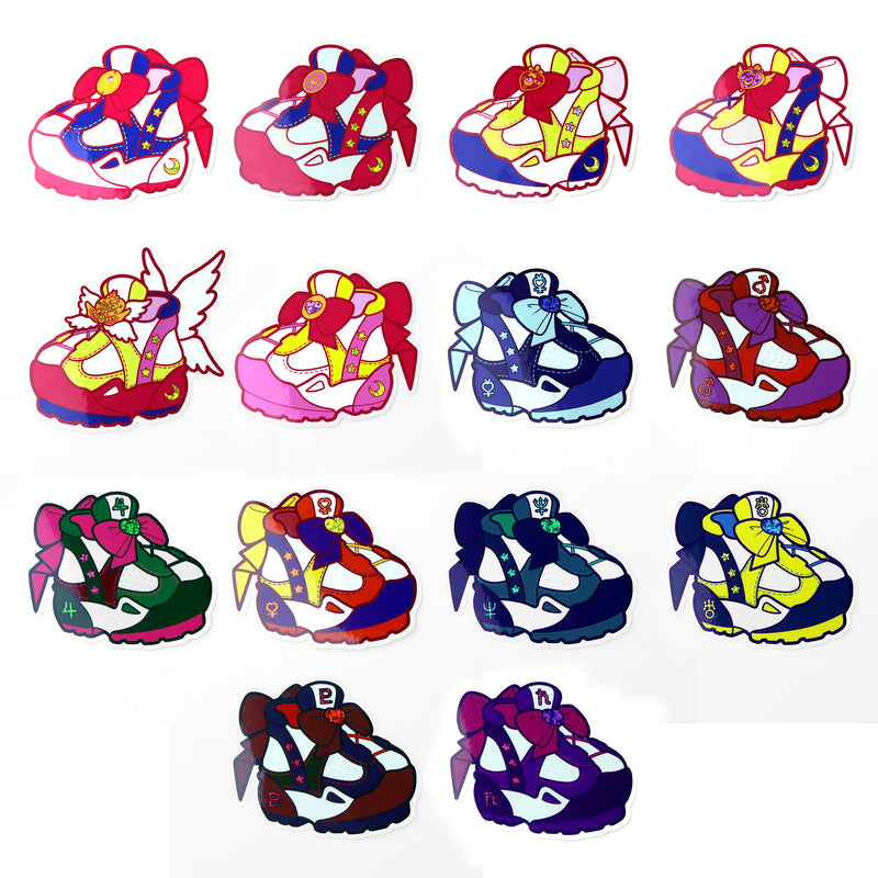 SCOUT SNEAKER 14 PIECE STICKER SET