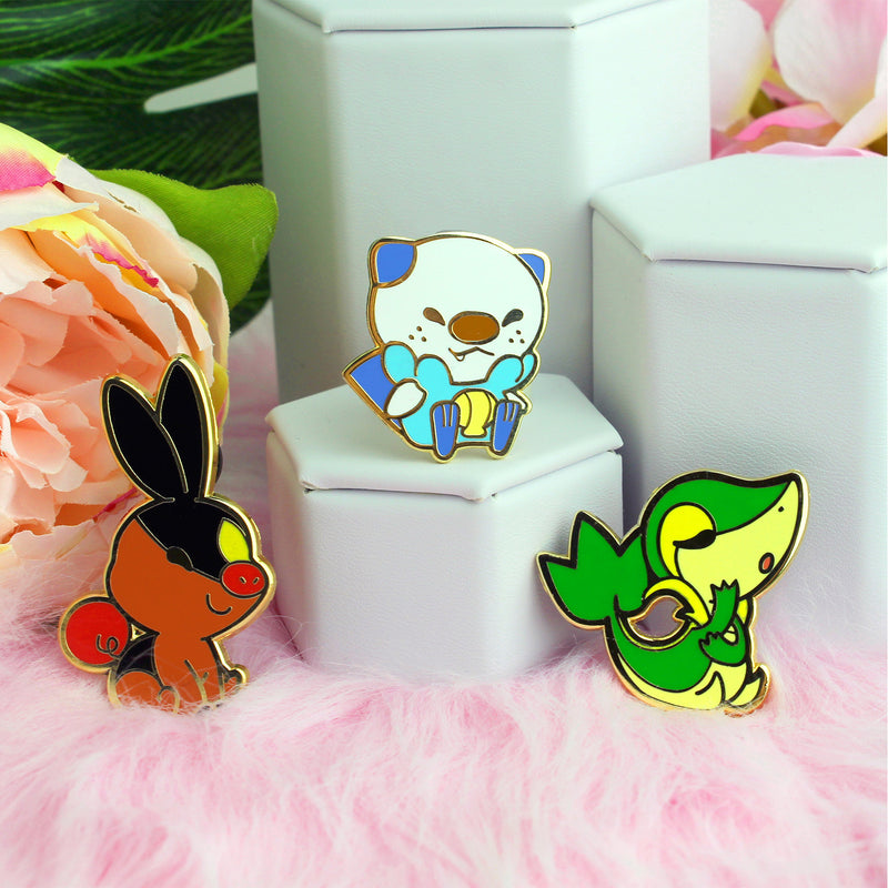 UNOVA KIDS 3 PIECE ENAMEL PIN SET