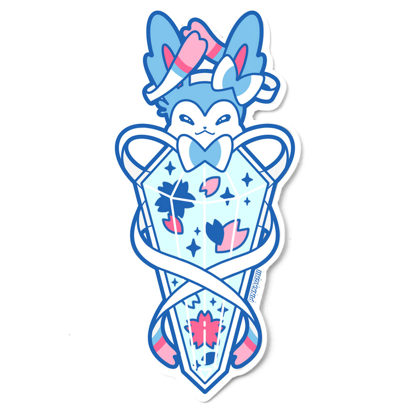 BLUE FAIRY POTION STICKER