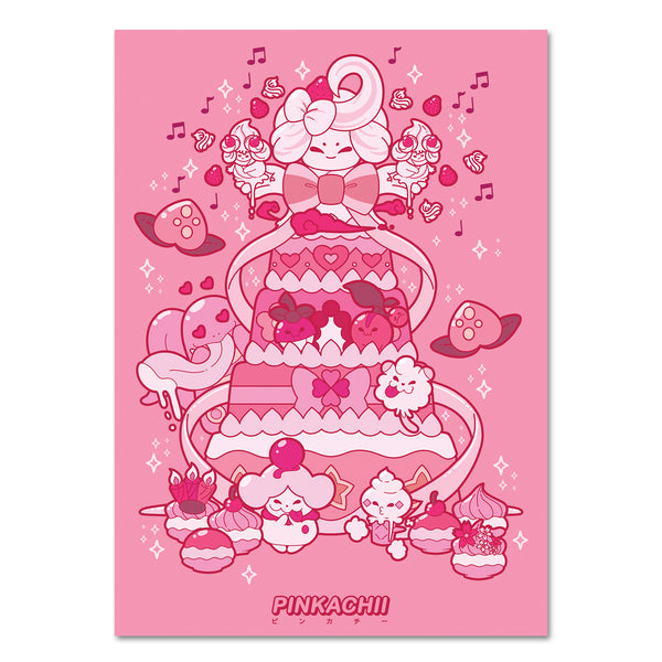 5 x 7 PINK SWEETS PRINT