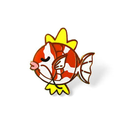 ORANGE WHITE MARLED KARP