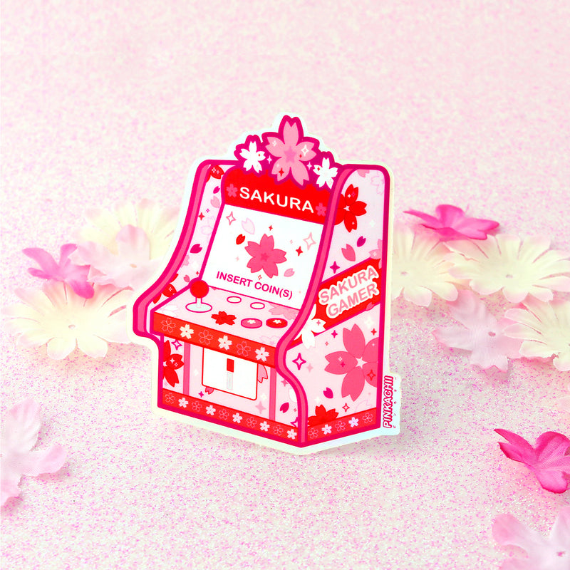 SAKURA ARCADE HOLOGRAPHIC STICKER