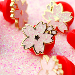 GOLD SAKURA MINI PIN
