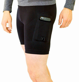 "6"" Base Compression Short 2.0 -BLACK - ruhn co. apparel"