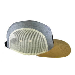 5-Panel Trucker Cap -Heather Gray