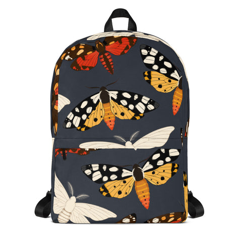 Moth Pattern Backpack