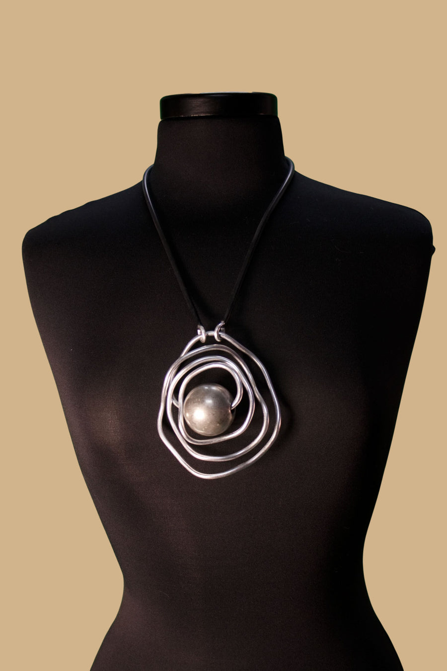 Jupiter Silver Necklace