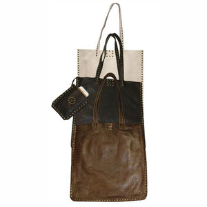 Scout Leather Studded Tote