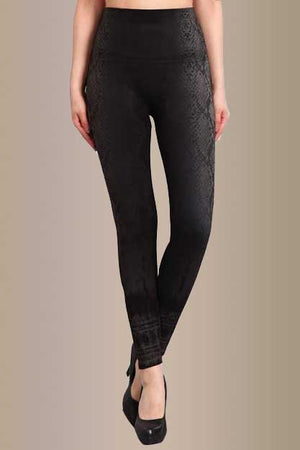 B4292C Snake Skin Leggings