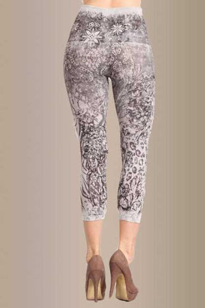 B2370BT Capri/Short Neutral Vintage  Legging