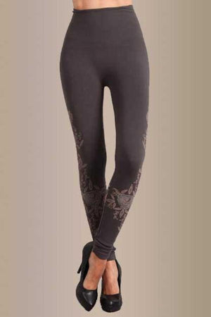 B2361USBH Flower Garden Leggings