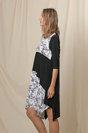 Myra Tunic Dress Printed