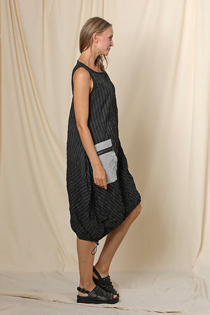 Elvira Dress Stripe