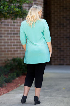 Simple Tunic - Mint ONLINE ONLY