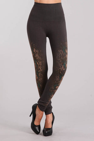 B2361USBJ Patterned Leggings